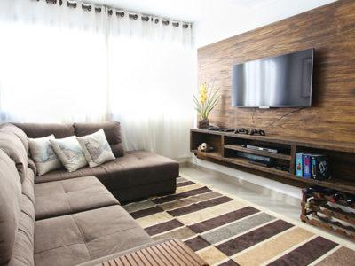apartment condominium feature wall