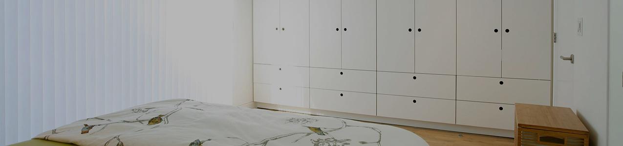 minimalist wardrobe white