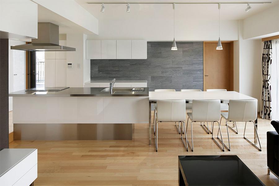 modern kitchen carpentry