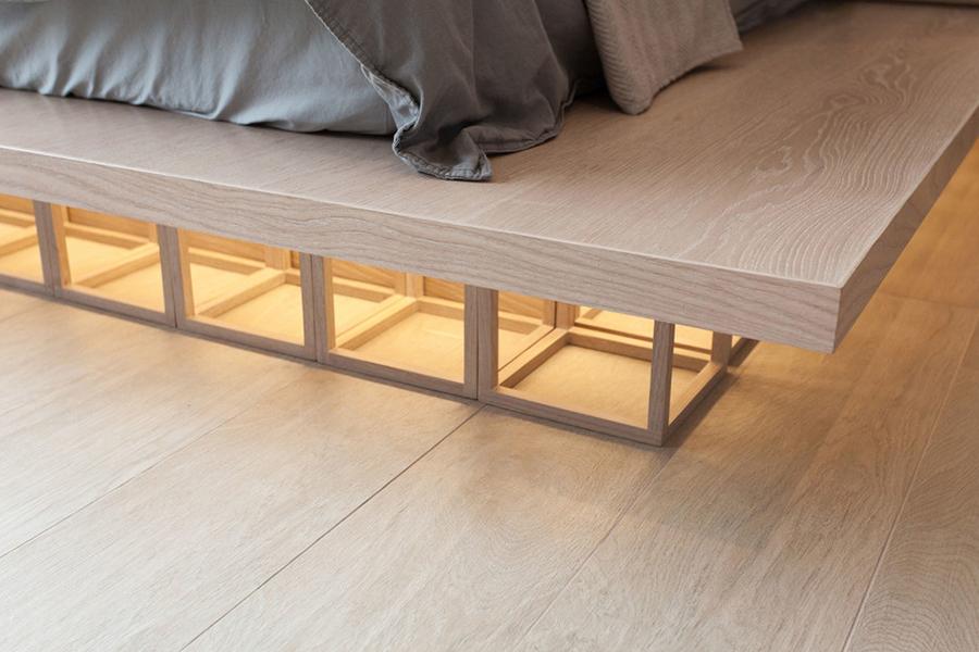 platform bed details