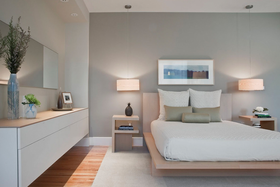 platform bed minimalist