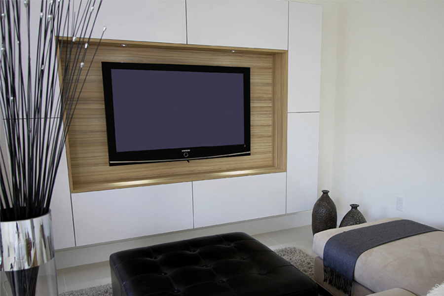 simple wall console