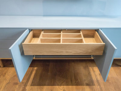 tv console drawer compartments